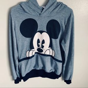 Mickey Mouse grey sweater. Size small.